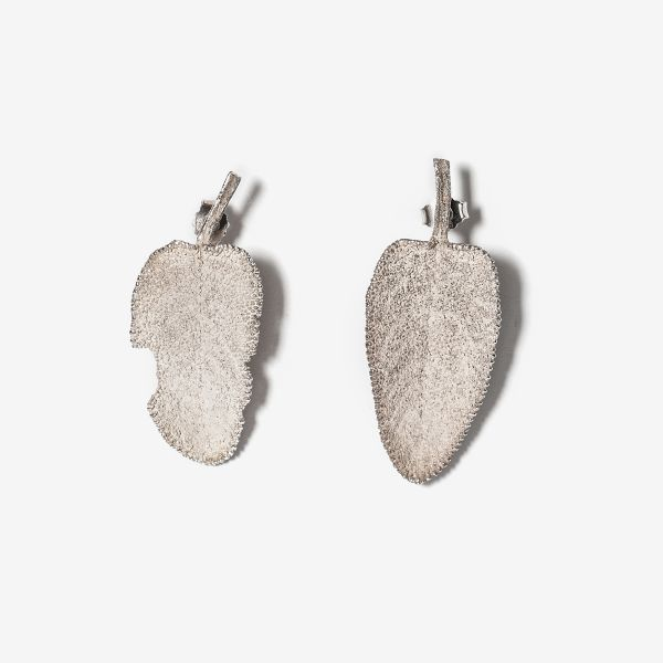 Earrings, sage (1)