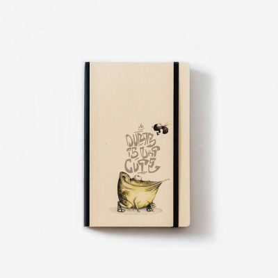Frog Notebook by Maksim Azarkevič